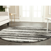 Retro Shades of Gray Area Rug image 2
