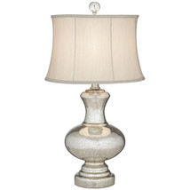 Silver Mercury Table Lamp with Drum Shade - $49.99