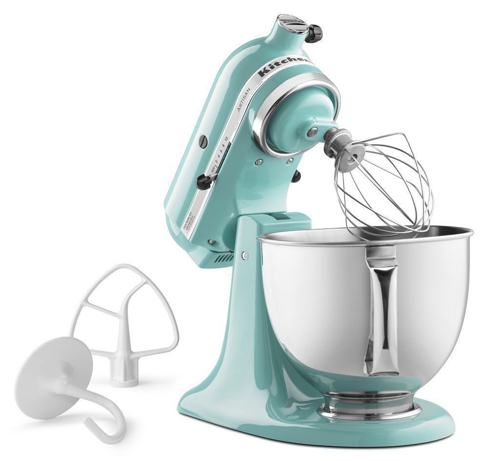 Primary image for Mint Green Kitchenaid Standing Mixer
