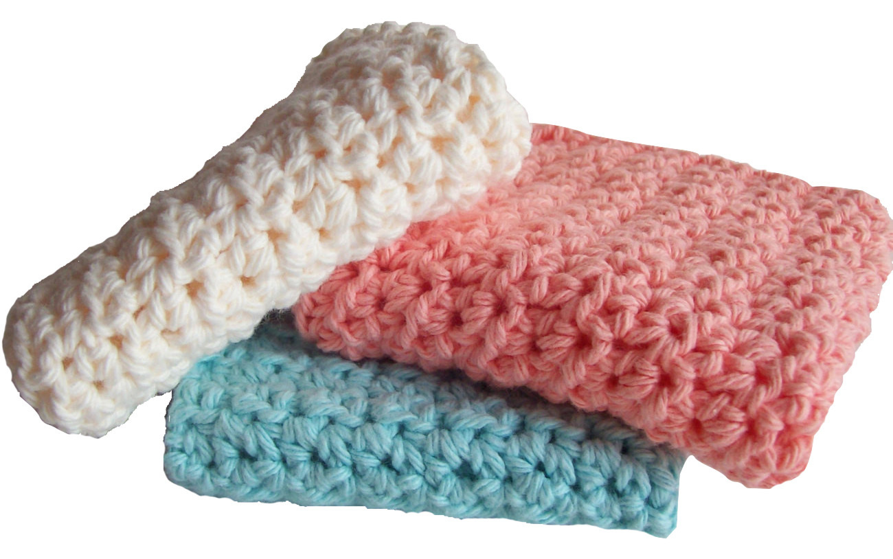 Vibrant Knit Dish Towels (Set of 3)