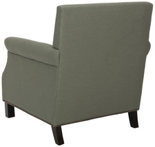 Sage Green Studded Arm Chair image 3