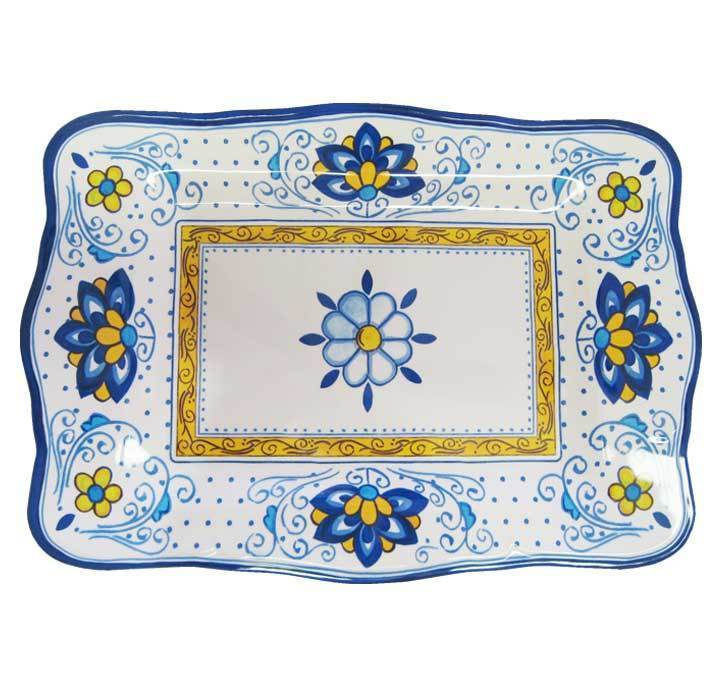 Cerulean Blue Serving Platter