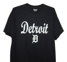 Detroit funny t/shirt  classic  looking very popular T/shirt black all s... - $10.99+