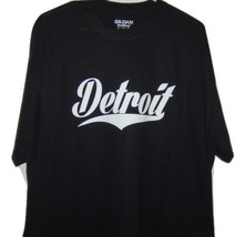 Free Shipping Detroit funny t/shirt  very classic looking Black T/shirt ... - $15.99+