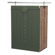 CedarStow Extra Wide Wardrobe, Forest green - $229.99