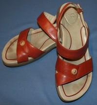 Dansko Rust Sandals Sz 39 8.5 9 Strappy Comfort - $46.11