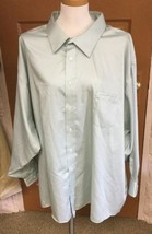 Joseph Abboud Men's Lime Green Dress Shirt NWT Size 22 34/35 MSRP $90 - $43.92 CAD