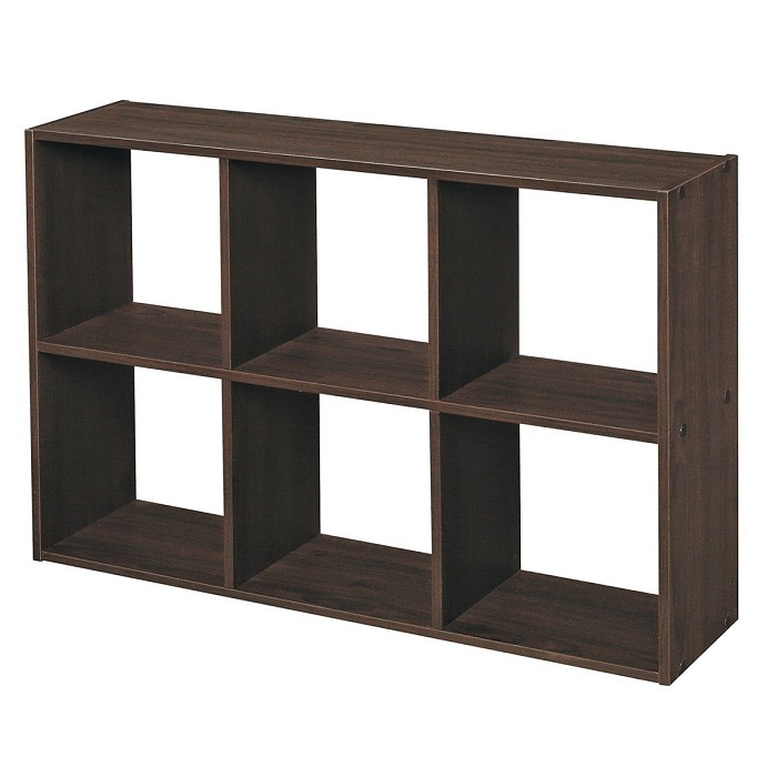 Mini-6-cube-storage-unit-organizer-book