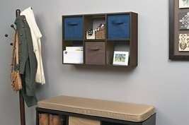 Mini 6 Cube Storage Unit Organizer Book Shelf B... - $29.99