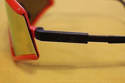 OAKLEY Eyeshade Heritage Collection Red/Fire Iridium OO9259-05 RARE NEW