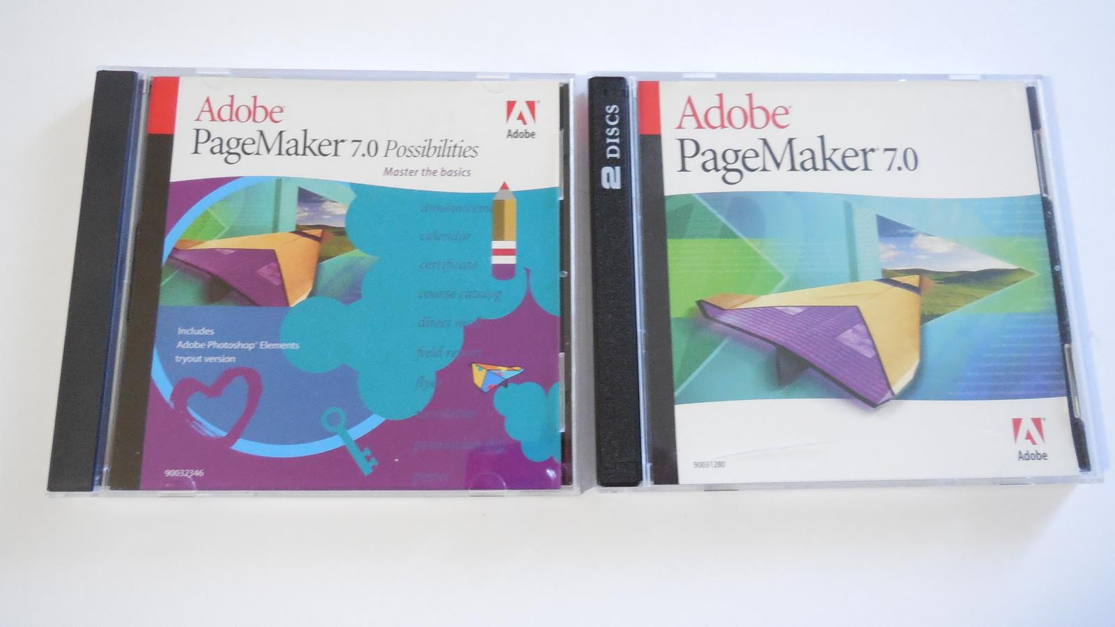 adobe pagemaker 7 0 windows education version includes key serial web desktop publishing. Black Bedroom Furniture Sets. Home Design Ideas