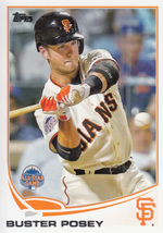 Buster Posey 2013 Topps Update All Star Card #US73 - $0.99