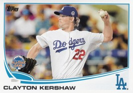 Clayton Kershaw 2013 Topps Update All Star Card #US106 - $0.99