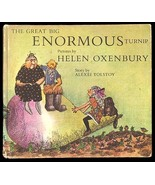 Helen Oxenbury The Great Big Enormous Turnip 19... - $38.99