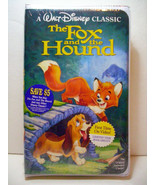 BRAND NEW SEALED THE FOX AND THE HOUND VHS WALT DISNEY BLACK DIAMOND CLA... - $1,188.00