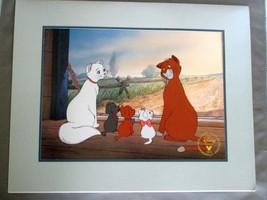 "1996 ""The Aristocats"" Exclusive Commemorative Lithograph - The Disney Store - $8.99"