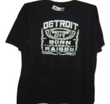 "Detroit motor city funny black t/shirt ""Detroit motor city born & raised... - $10.99+"