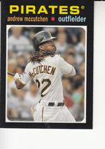 Andrew McCutchen 2013 Topps Update Mini Insert Card #TM-12 - $0.99