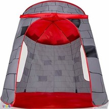 Kids Play Tent Knight Castle - Portable - Pop Up Foldable Into Carrying ... - $33.32