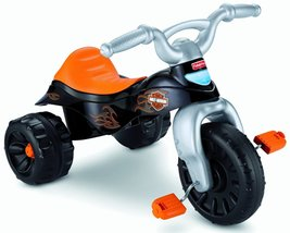 Kids Fisher-Price Harley-Davidson Motorcycles Tough Trike for Ages 2-6 y... - $55.79