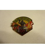 Super Bowl XXV Tampa Lapel Hat Pin NFL Football 1991 Giants Bills - $8.41