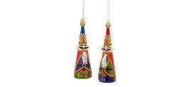 Melrose Decor Ornaments - Christmas Elegant Nutcracker King Soldiers 2pc... - $19.95