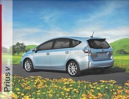 2012 Toyota PRIUS V HYBRID sales brochure catalog 12 US - $9.00