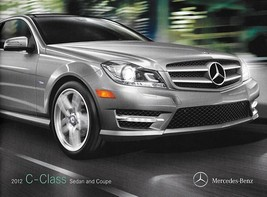 2012 Mercedes-Benz C-CLASS sales brochure catalog 250 300 350 C63 AMG - $8.00