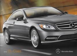 2012 Mercedes-Benz CL-CLASS brochure catalog US 12 550 600 CL63 CL65 AMG - $12.00