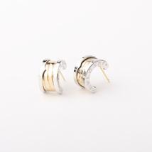 Designer Inspired Gorgeous Celebrity BV-logo Gold-colored silver-tone earrings - $21.99