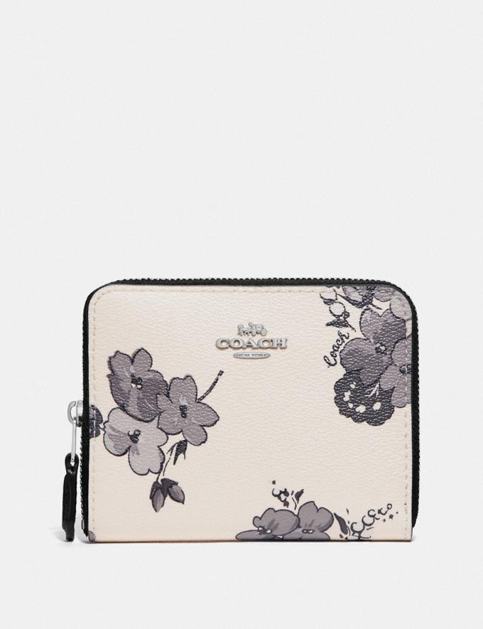 Primary image for Coach Small Zip Around Wallet With Fairy Tale Floral Print F73515