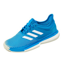 Adidas SoleCourt Boost Clay Men's Tennis Shoes Sports Athletic Blue DB2690 - £126.05 GBP
