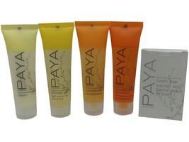 PAYA Organics Travel Set Shampoo Conditioner Lotion Shower Gel & Soap - $15.00