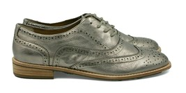 G.H. BASS & CO. Erica Women's Leather Shoes - Pewter - Size 7.5 - NEW Au... - $84.14