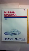 1986 Nissan Maxima Service Manual [Paperback] [... - $11.83