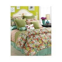 1891 Sferra PALM BEACH POSY 3P Queen Duvet Cove... - $166.20