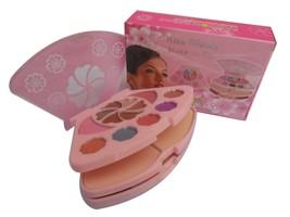 Kiss Beauty Makeup Kit With Eyeshadow Blusher P... - $10.17