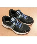 Women's Nike Dart 10 Black Purple Violet Running Shoes 580427-003 Size 7 - $12.00