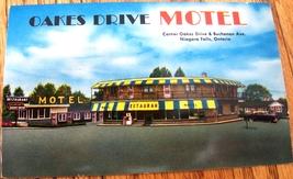 Oakes Drive Motel Niagara Falls Ontario ON 1950s Postcard PC Unused - $6.00