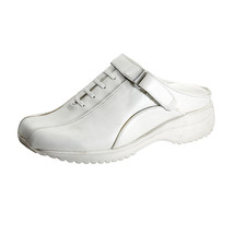 24 HOUR COMFORT Britney Women's Wide Width Leather Clogs - $39.95