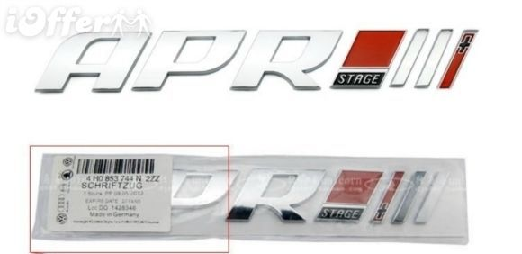 Car Badge Emblem Genuine APR stage II+ for and 32 similar items