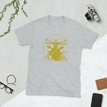 Davinci Drums Short-Sleeve Unisex T Shirt Funny Rock Drummer Tee Band Drumming image 3