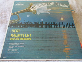 Wonderland By Bert Kaempfert Record Album - $4.49