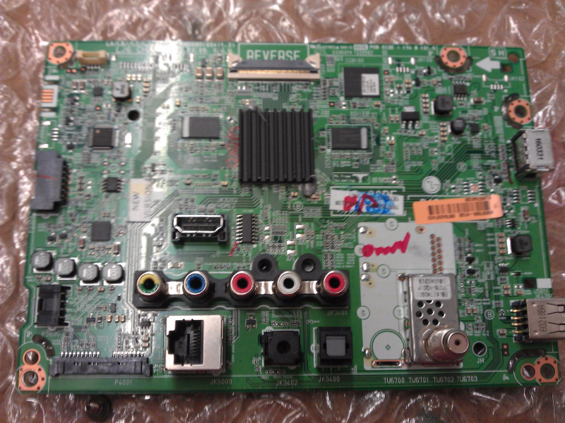 EBT64297422 Main Board From Lg 55LH5750-UB LCD TV