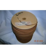 """Large Spool 600 yds 1/8"""" LEATHER TRIMS Rawedge ... - $171.14"""