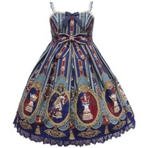 Angelic Pretty Chess Emblem JSK Jumperskirt Dress Lolita Japanese Fashio... - $399.00