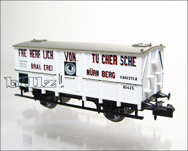 TRIX MINITRIX N 13444 Bavarian K.Bay.Sts.B. Tucher Beer Car  - $144.50