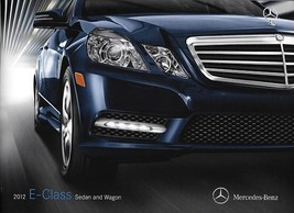 2012 Mercedes-Benz E-CLASS sedan wagon brochure catalog US 350 550 E63 AMG - $8.00
