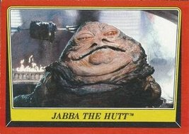 1983 Topps Star Wars Return of the Jedi #14 JABBA THE HUTT Trading Card - $1.95