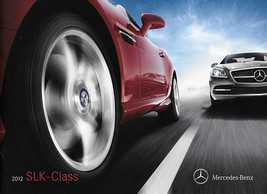 2012 Mercedes-Benz SLK-CLASS brochure catalog US 12 350 - $10.00